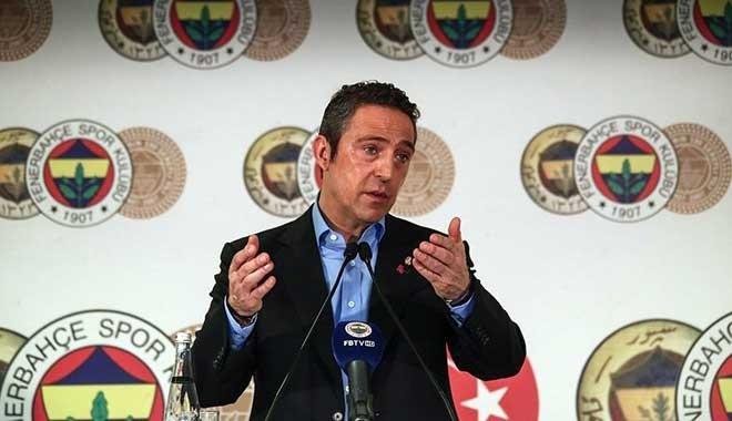 Fenerbahçe Başkanı Ali Koç: Trabzonspor sırtını devlete dayamış