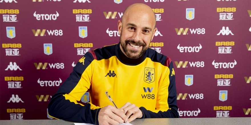 Aston Villa Kaleci Reina'yı Kiraladı