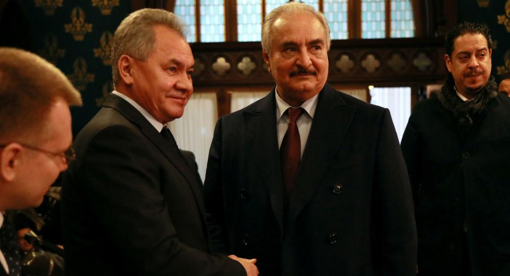Rusya: Hafter, Moskova'da hazırlanan taslak metni müttefikleriyle görüşmek için 2 gün süre aldı