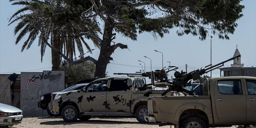 Hafter Trablus'a Saldırı İçin Takviye Güç Yığıyor