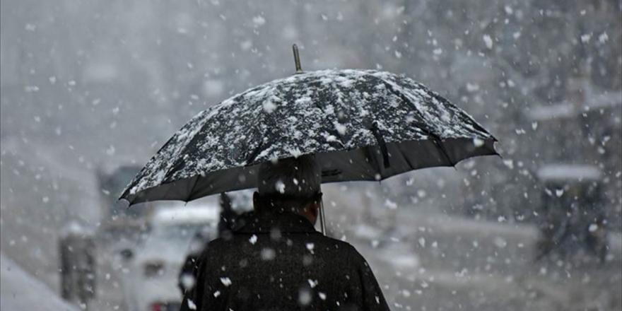 İç Anadolu, Karadeniz Ve Doğu Anadolu İçin Kar Uyarısı