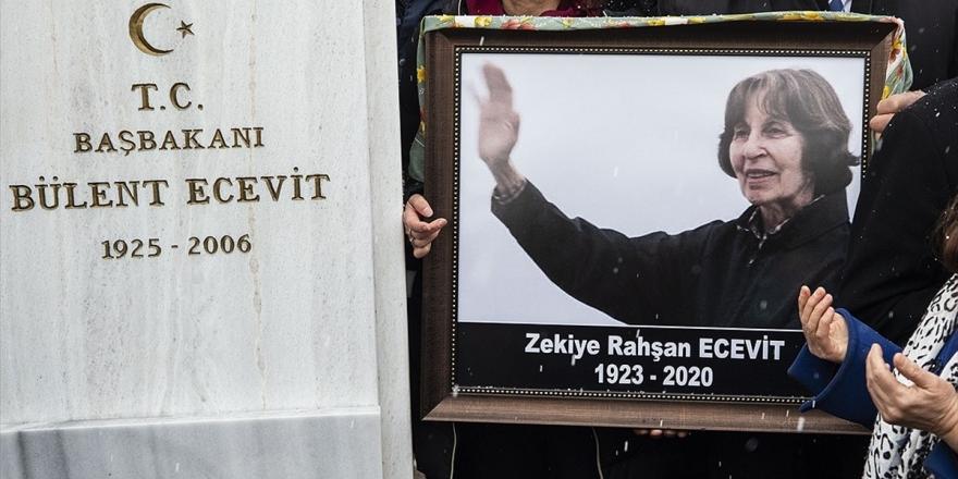 Rahşan Ecevit'in Devlet Mezarlığı'na Defni İçin Hazırlanan Yasa Teklifi TBMM'ye Sunuldu