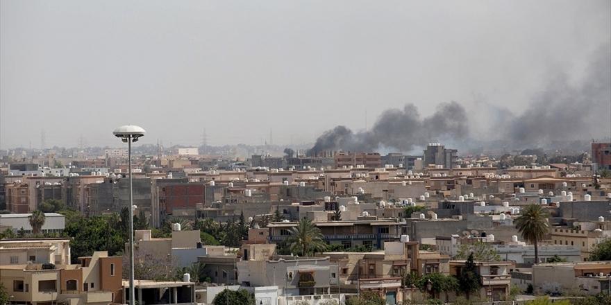 Libya'daki Hafter Milislerinin Başkent Çevresinde Ateşkes İhlali Devam Ediyor