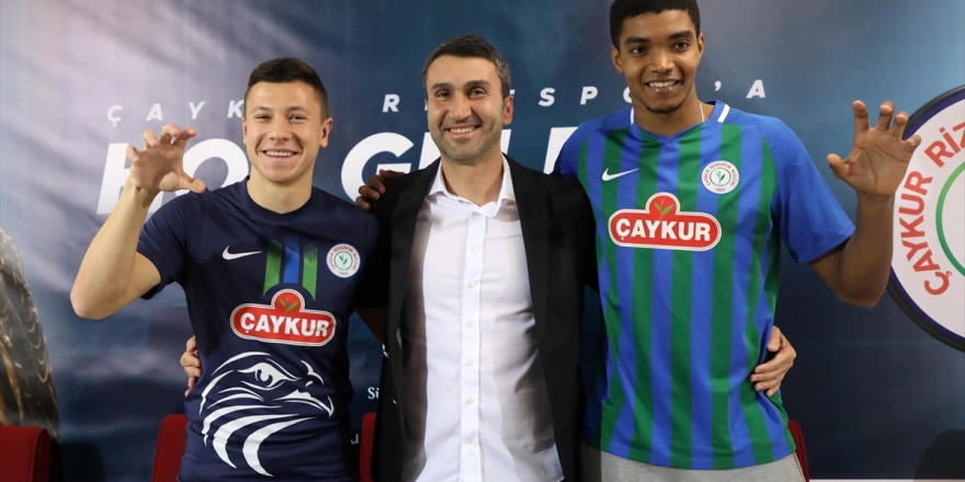 Çaykur Rizespor, Ivanildo Fernandes Ve Andry Boriachuk İle Sözleşme İmzaladı