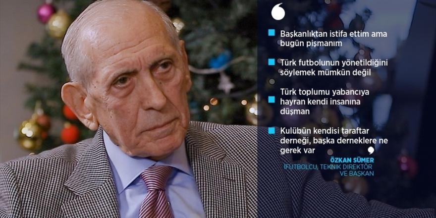 Futbolcu, Teknik Direktör Ve Başkan: Trabzonspor'un Efsanelerinden Özkan Sümer
