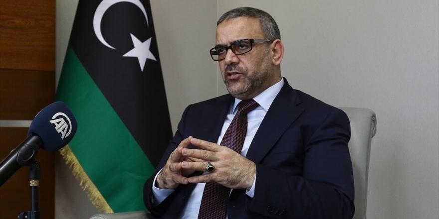 Libya Devlet Yüksek Konseyi Başkanı Mişri: Rusya, Hafter'i İkna Edemeyerek Zor Durumda Kaldı