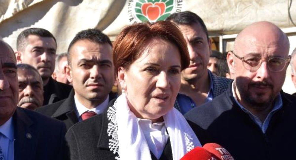 Akşener: AKP 3Y ile geldi, 3Y'nin sahibi oldu