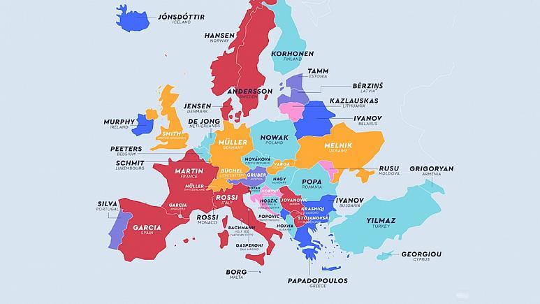 Türkiye'de ve Dünya'da en yaygın soyisimler!...