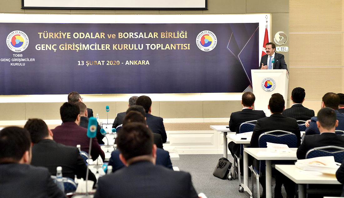 Hisarcıklıoğlu, genç girişimcilerden 'rol model' olmalarını istedi