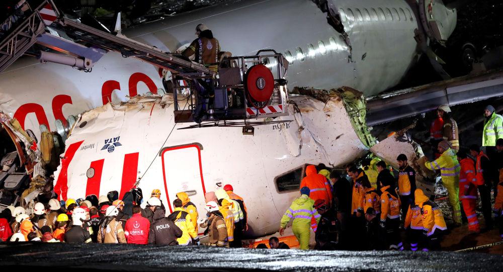 Sabiha Gökçen'de pistten çıkan uçağın kara kutuları deşifre edildi