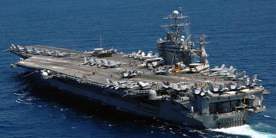 ABD Donanması Akdeniz'de operasyon başlattı