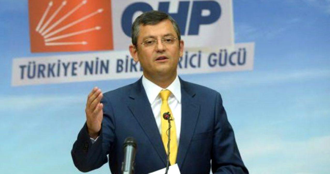 CHP'li Özel: Genelkurmay Başkanı İle Polemik Yapmayız