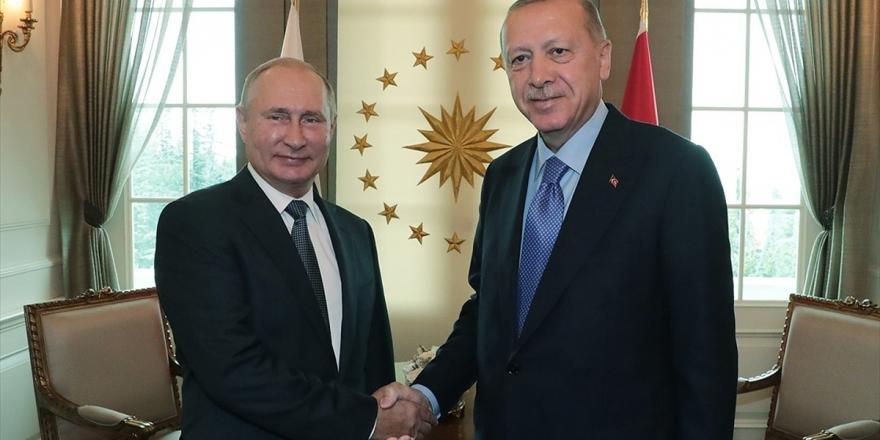 Cumhurbaşkanlığı'ndan Erdoğan-Putin görüşmesine dair açıklama