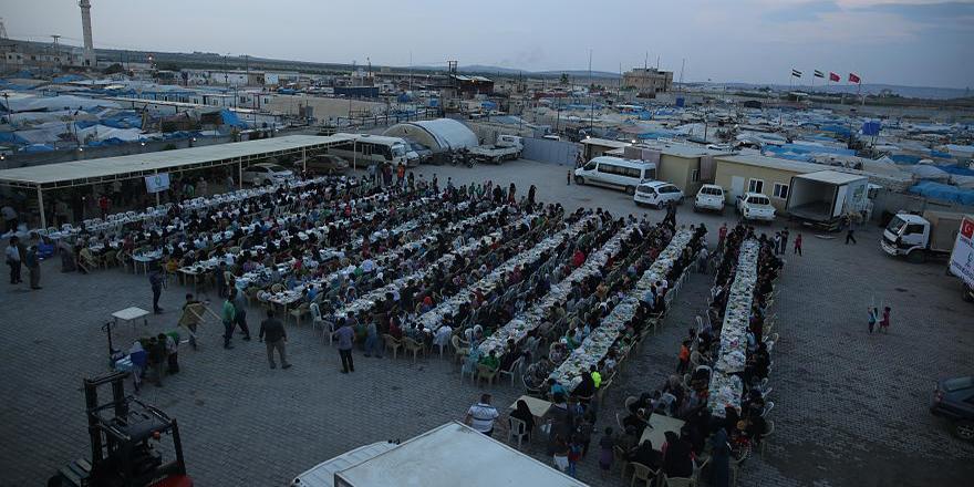 Türkiye insani yardımda zirvede