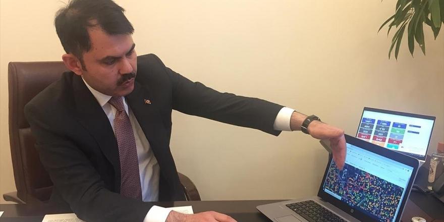 Çevre Ve Şehircilik Bakanı Kurum: 81 İlin 3 Boyutlu Dijital İkizini Çıkardık