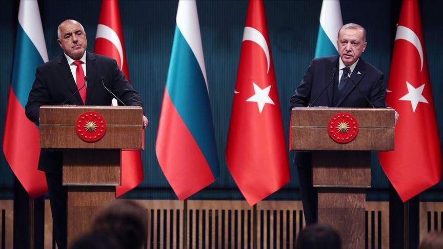 Erdoğan, Bulgaristan Başbakanı Borisov ile görüştü: AB çifte standart uygulamaya devam ediyor