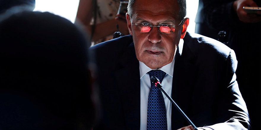 Lavrov: Ana tehdit ABD kontrolündeki Fırat'ın doğusundan yükseliyor