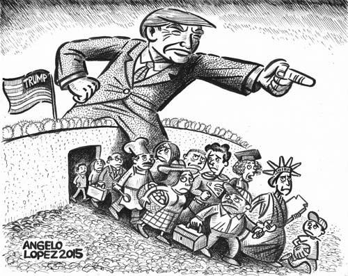 Trump, Göçmenlere : 'Hayvanlar (!) Ev Sahibi Olmasın'