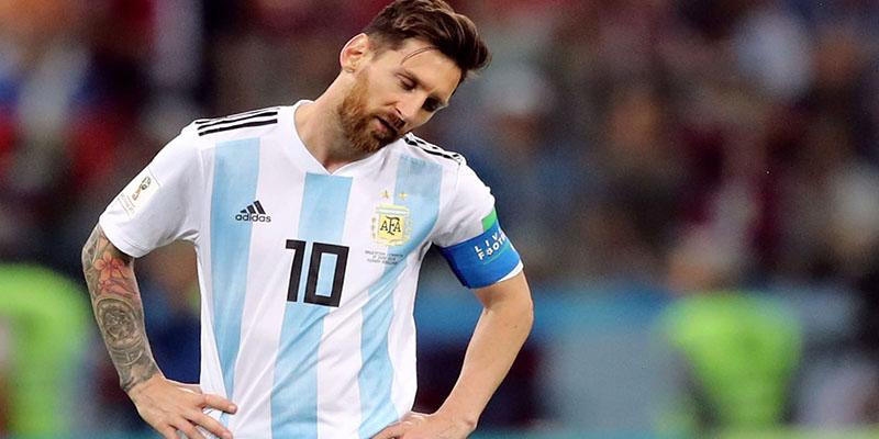 Hırvatlar Messi'yi devirdi: Arjantin 0 Hırvatistan 3