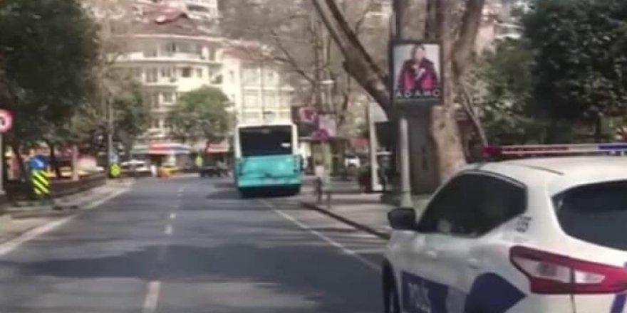İstanbul'da Polis Bu Anonsu Geçiyor