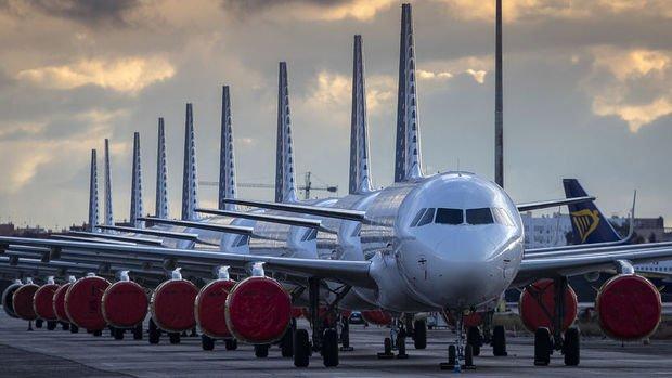 Hava yolu şirketleri virüsten dolayı 252 milyar dolar kaybedebilir