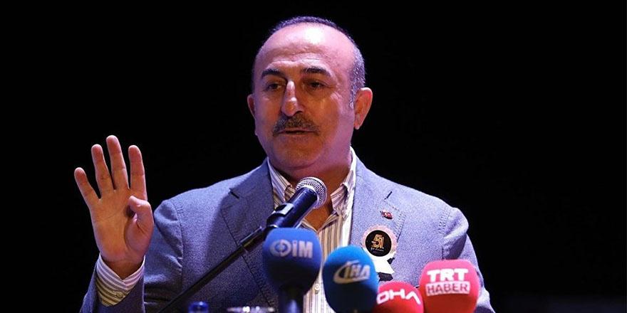 Çavuşoğlu: Türkiye, ABD'nin İran'a yönelik yaptırımlarına uymayacak