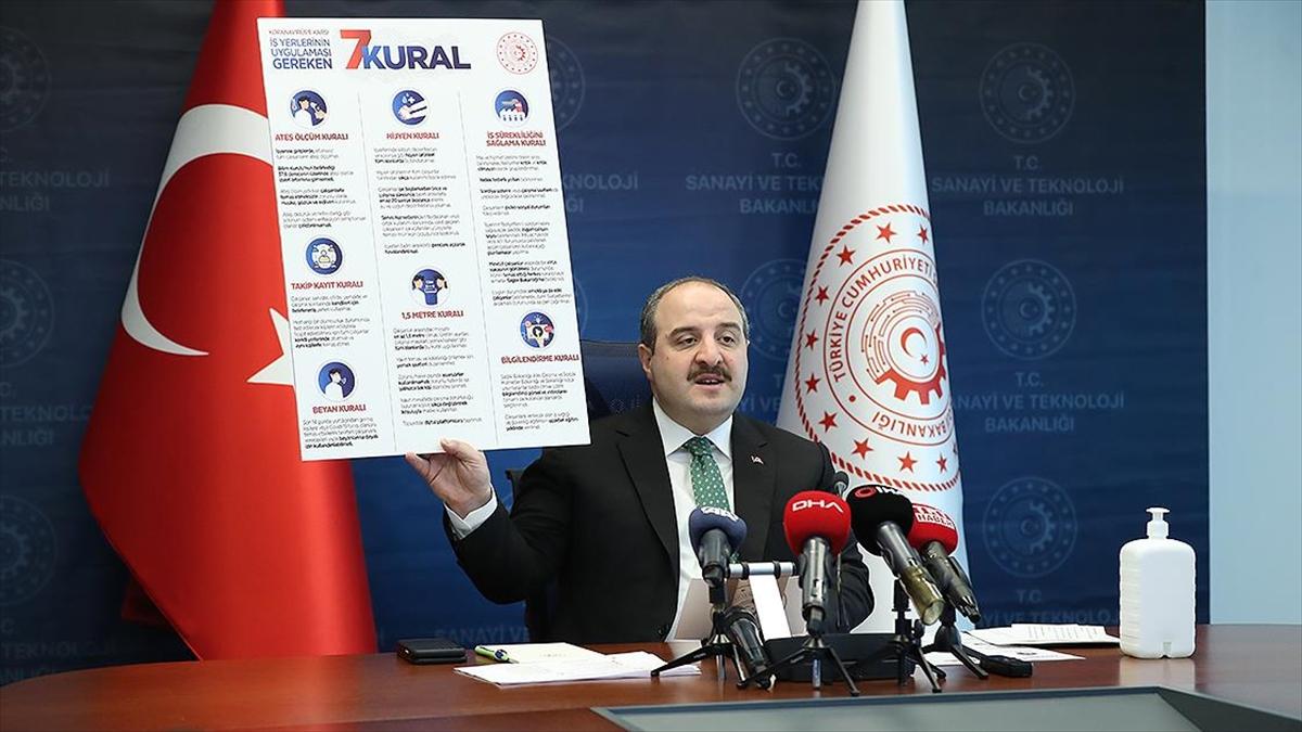Sanayi Ve Teknoloji Bakanı Varank: Fırsatçılık Yapanlar Bundan Sonra Hiçbir Şekilde Desteklerden Yararlanamayacak