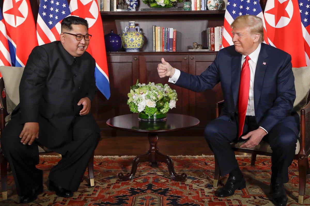 'Ben Seçilmeseydim, Kuzey Kore ile Savaştaydınız'