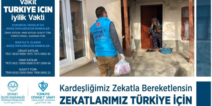 Türkiye Diyanet Vakfı Yardım Kampanyası Başlattı