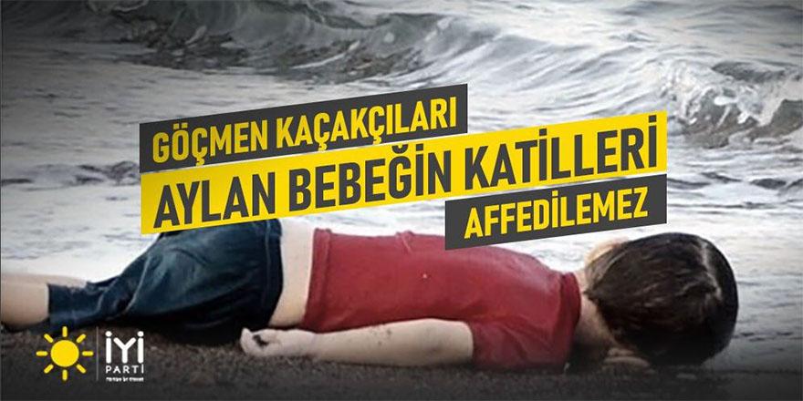 İYİ Parti'den af karşıtı kampanya