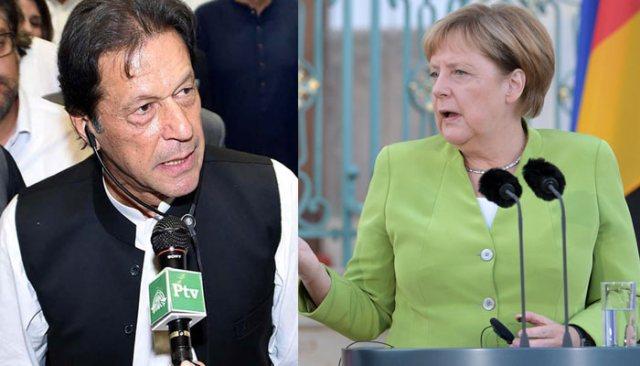 Merkel: 'Her Konuda Umudumuz Pakistan'