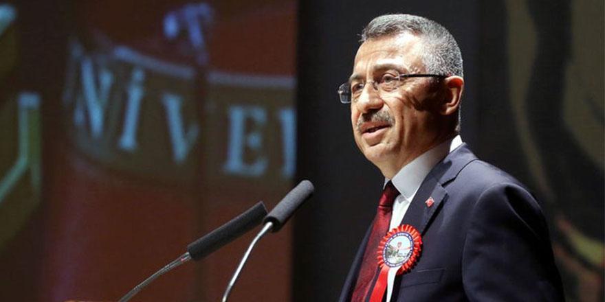 Cumhurbaşkanı Yardımcısı Oktay: Atatürk'ün ismini bile bu ülkeden kazımak isteyenler oldu