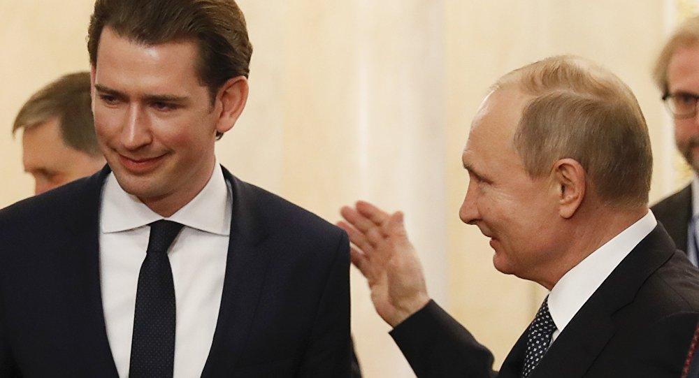 Avusturya Suriye'de Putin'in Müttefiki Olacak