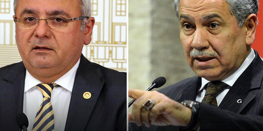 AK Partili Metiner'den Arınç'a olay sözler: Defterini dürmesini biliriz