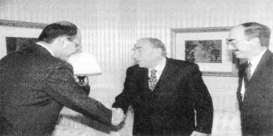 Türkeş, Irak'ın şimdiki cumhurbaşkanı Berhem Salih ile yıllar önce ne konuştu?