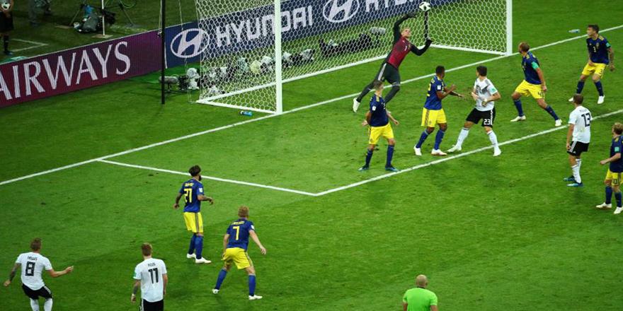 Almanya son saniyede kazandı