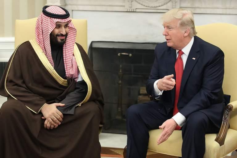 Suudi Prens: 'Trump'la Orta Doğu'da Çok Şey Başardık,Artık Ailemizden Biri'
