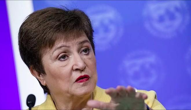 IMF Başkanı Georgieva'dan bankalara 'temettü ve geri alımları durdurun' çağrısı