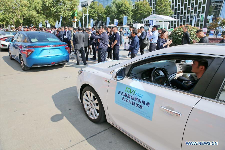 Çin'de Hidrojenle Çalışan Araçlar 'Yollarda'
