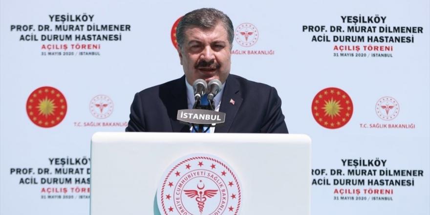 Sağlık Bakanı Koca: Acil Durum Hastanelerimiz Türkiye İçin Zorunlu Projelerdir