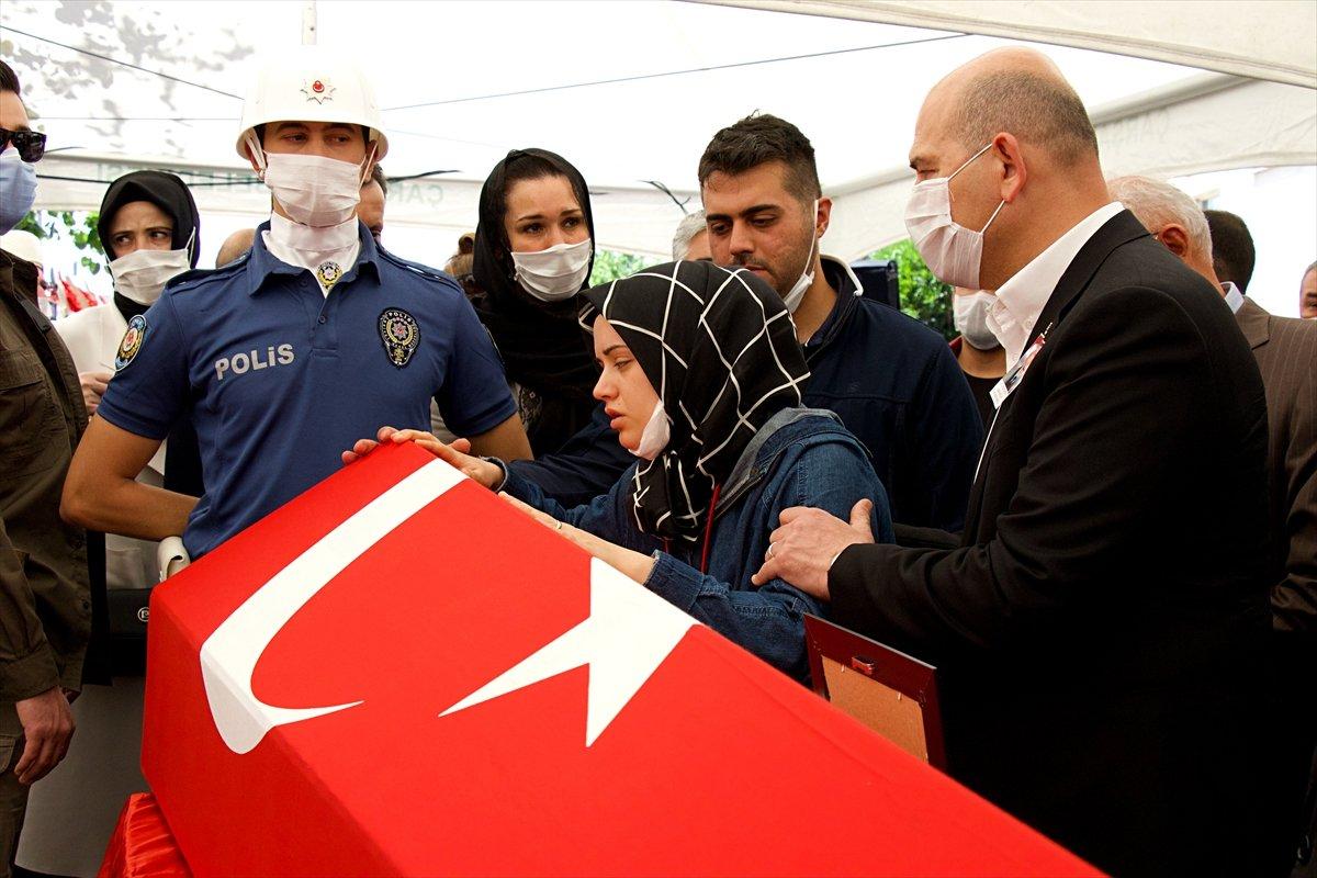 Şehit polis memuru Samsun'da son yolculuğuna uğurlandı