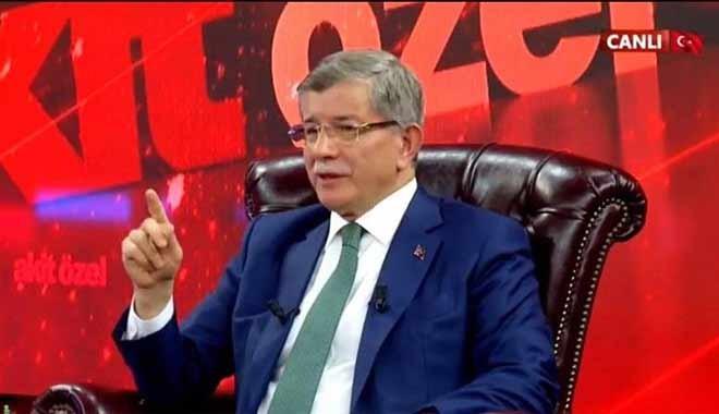 Ahmet Davutoğlu'ndan 'Man Adası' çıkışı