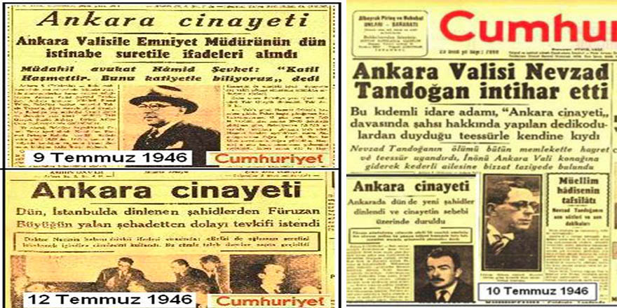 Ankara'nın hafızasından silinmeyen cinayet