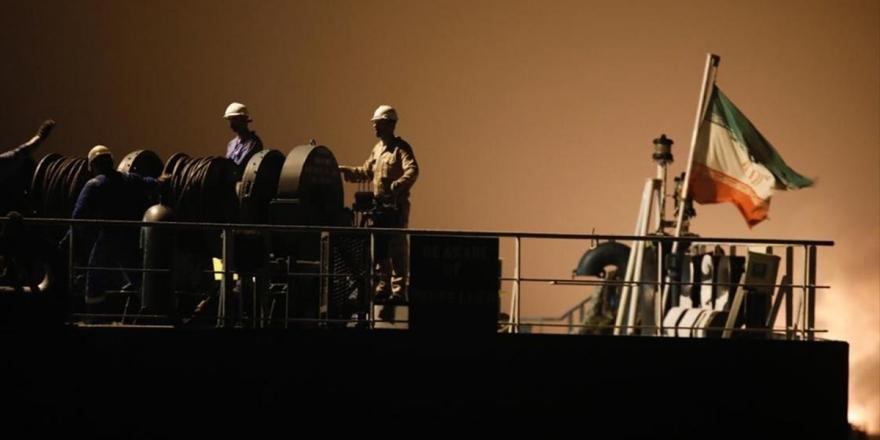 İran'ın Gönderdiği Son Petrol Yüklü Tanker Venezuela Kara Sularına Ulaştı