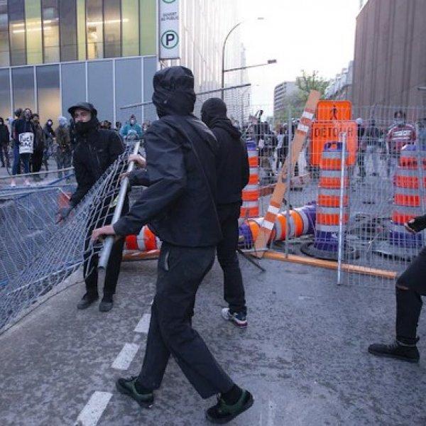ABD'deki şiddet olayları Kanada'ya sıçradı