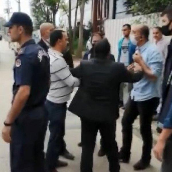 Bursa'da zabıta memuruna saldırı