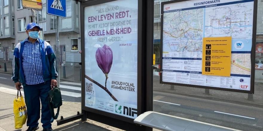 Hollanda'da Kovid-19 Mücadelesi Veren Halka Kur'an-ı Kerim'den Ayet İle Destek