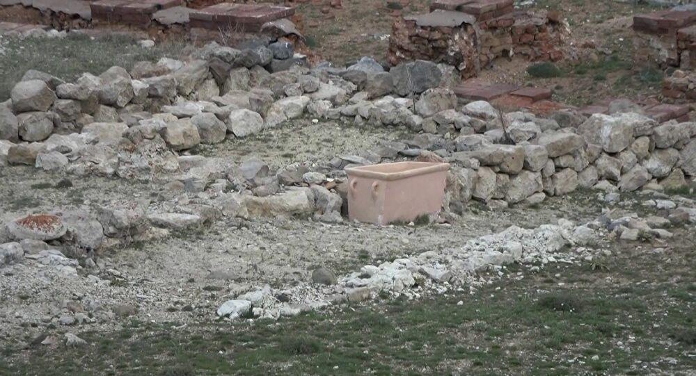 3 bin 500 yıllık küvet: Yaz aylarını Sarissa'da geçiren Hitit krallarının duş aldığı düşünülüyor