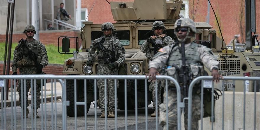 Pentagon Washington Yakınlarına Konuşlandırdığı Kuvvetleri Geri Çekiyor