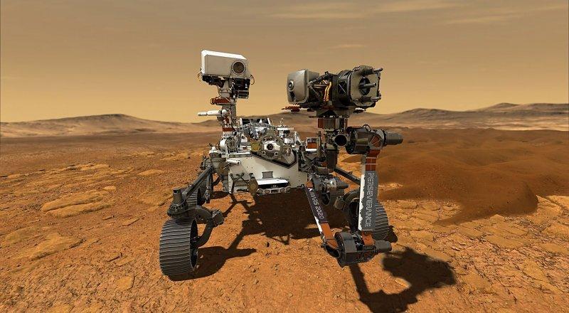 KIZIL GEZEGEN MARS'TA BİR ZAMANLAR YAŞAM VAR MIYDI ? BİZE BU CEVABI VERECEK OLAN NASA'NIN YENİ UZAY ARACIYLA TANIŞIN